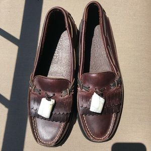 Brown Sperry top sided 9W .NWOT